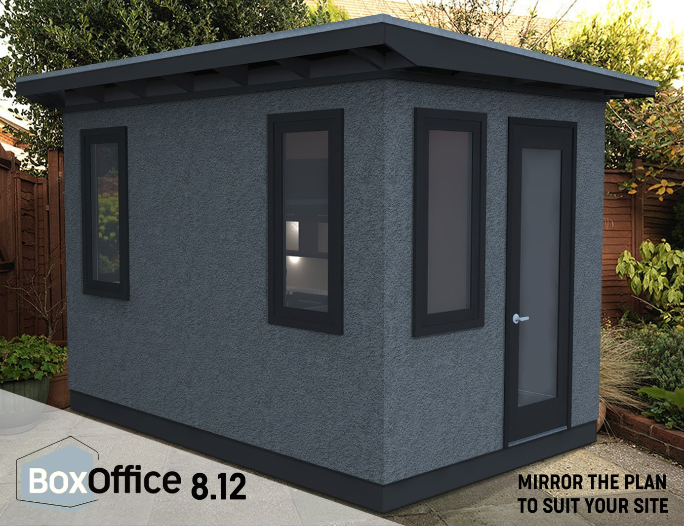 Backyard office sheds in Vancouver