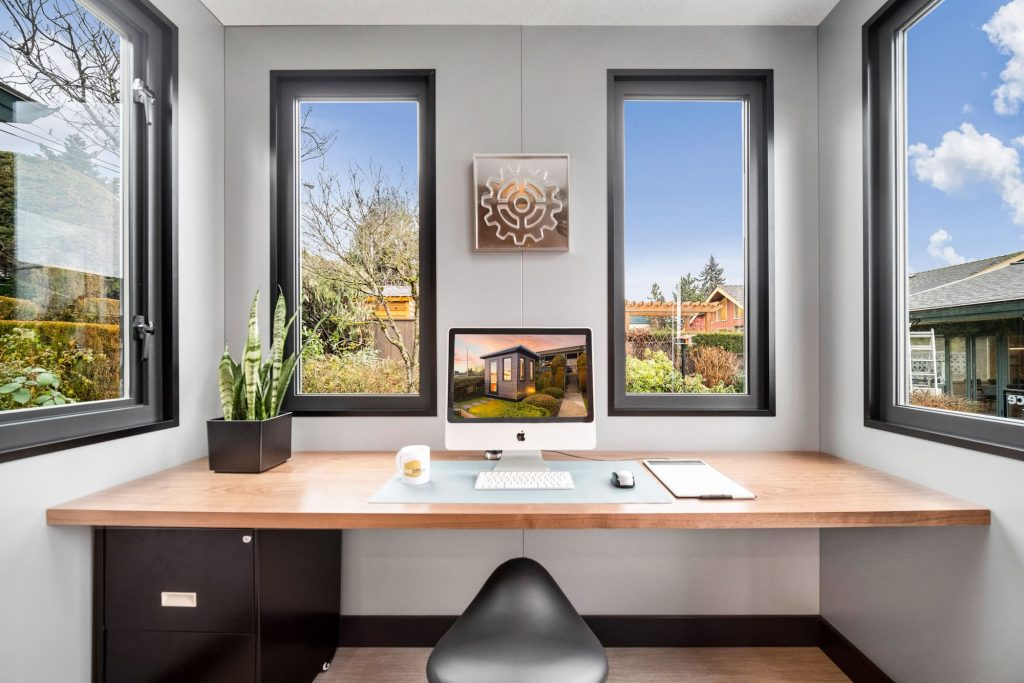 modern work from home backyard office spaces