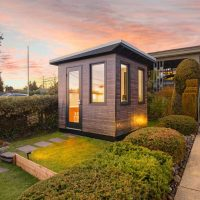 Work from home in your private backyard office